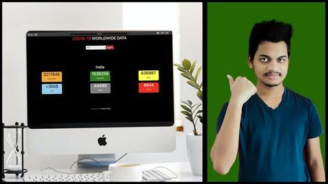 Develop A Covid-19 Live Web App With Python Django